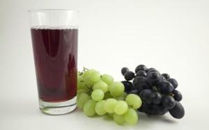 Виноградный сок, виноград