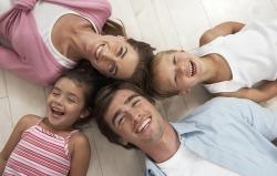 папа, мама, сын, дочь
