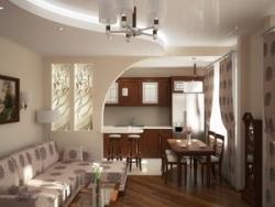 Кухня совмещенная с гостиной – плюсы