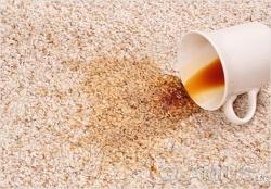 Выводим пятно от кофе