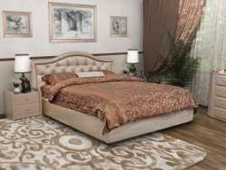 круглая кровать аскона фото и цены