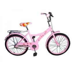 Розовый велосипед для девочки