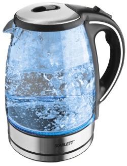 Стеклянный электрический чайник: плюсы и минусы