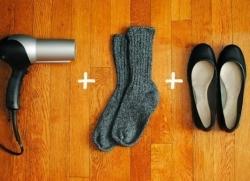 Растягиваем обувь
