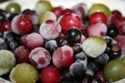 Заморозка сохраняет витамины