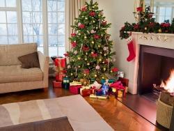 На Новый год принято наряжать елку