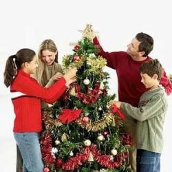 Наряжаем елку на новый год