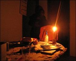 Что делать, если выключили свет