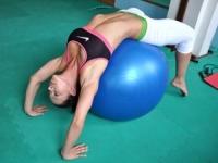 Что такое гимнастический мяч