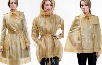 Что модно носить в дождь