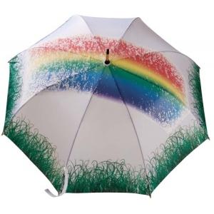 Зонт, меняющий цвет от воды