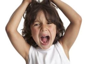 Если у ребенка истерика