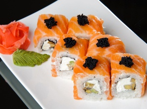 Польза суши и роллов