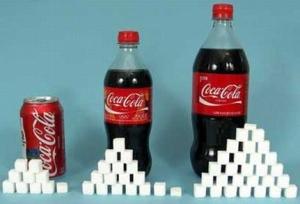 Сахар и кока-кола