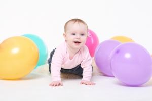 Физическое развитие в 8 месяцев