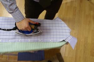 Гладим рубашку правильно