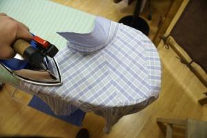 Правильно гладить рубашку