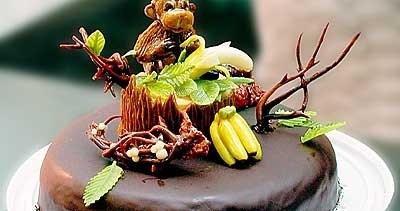 Оригинальный торт на год обезьяны