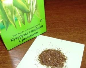 Польза кукурузных рылец