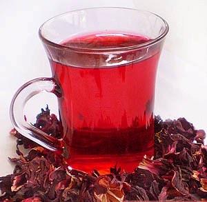 Чай каркаде - полезные свойства