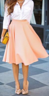Кому можно носить юбку-солнце
