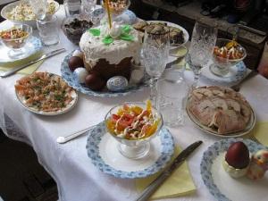 Пасхальный стол - традиции