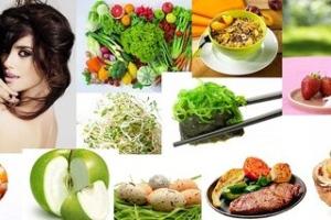 Продукты, полезные для волос