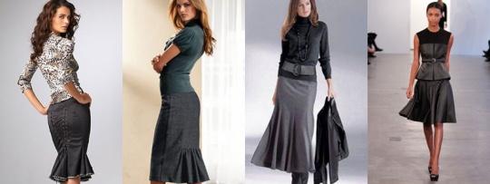 Как выбрать юбку годе