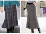 С чем носить юбку годе