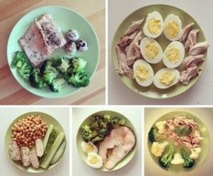 Сушка тела – правила питания