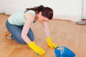Как отмыть линолеум