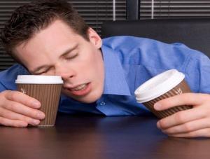 Пейте не кофе а крепкий чай