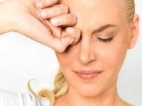 Резь в глазах - причины и лечение