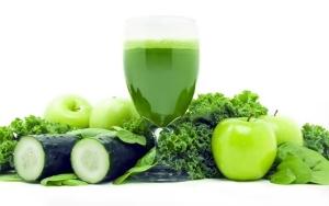 Омолаживающая зеленая диета
