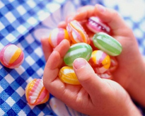 Вредные сладости для детей