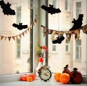 Хэллоуин дома