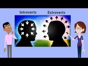 Интроверт - экстраверт