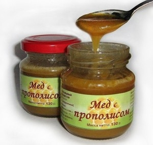 Польза меда с прополисом