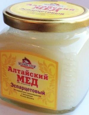 Свойства эспарцетового меда