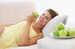 Яблоки и беременность
