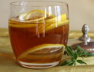 Напиток медово-лимонный