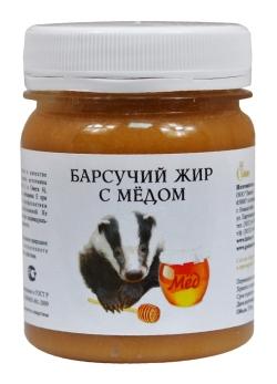 Жир барсука с медом