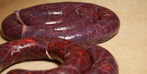 Польза кровяной колбасы