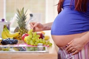 Виноград и беременность