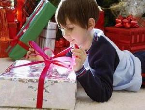 Подарок сыну на Новый год
