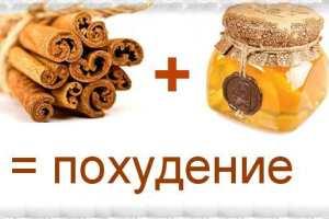 Корица + мед для похудения