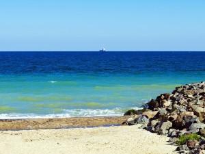 Красивое черное море