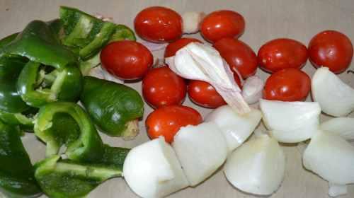 Сувлаки по-гречески в духовке-5