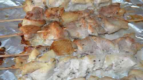 Сувлаки по-гречески в духовке-8