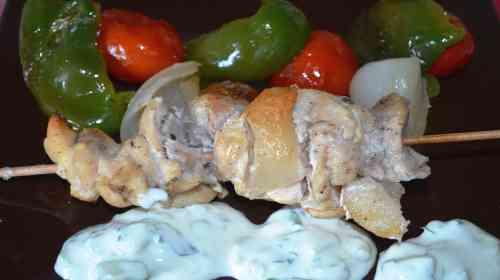 Сувлаки по-гречески в духовке-9